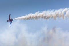POZNAN POLEN - JUNI 14: Aerobatic gruppbildande Royaltyfria Foton
