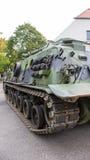 Poznan, Polen 1. Oktober 2016 Patton M-88 - amerikanisches gepanzertes Bergungsfahrzeug Lizenzfreies Stockfoto