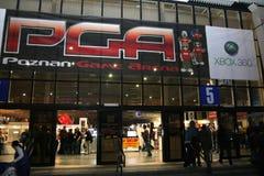 Poznan-Spiel-Arena-Ausstellung Lizenzfreies Stockfoto