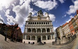 Poznan Town Hall Royalty Free Stock Images