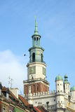 Poznan Town Hall Tower Royalty Free Stock Photos