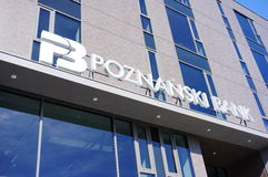 Poznanski Bank Royalty Free Stock Photos