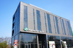 Poznanski Bank office builing Stock Photography