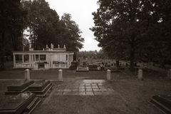 Poznanski Grave at the Jewish cemetery in Lodz, Poland Royalty Free Stock Images