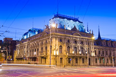 Poznanskis Palast in Lodz, Polen Stockbild