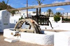 pozo Ισπανία της Ανδαλουσίας de frailes Los watermill Στοκ Εικόνες