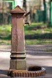 Pozo de agua/sistema de bomba Fotografía de archivo