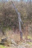 Pozo de agua viejo abandonado Imagen de archivo libre de regalías