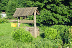 Pozo de madera Foto de archivo libre de regalías