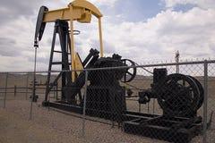 Pozo de petróleo Imagen de archivo libre de regalías