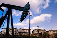 Pozo de petróleo Foto de archivo libre de regalías