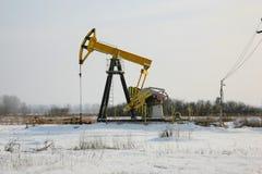 Pozo de petróleo Foto de archivo