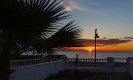 Pozo Del Esparto Sunrise Spain Stock Images