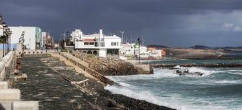 Pozo Izquierdo - shore of Atlantic Ocean Stock Image