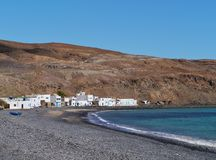 Pozo Negro a fishermen village on Fuerteventura Stock Photo