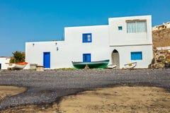 Pozo Negro, small fishing village on Fuerteventura Royalty Free Stock Photos