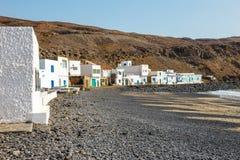 Pozo Negro, small fishing village on Fuerteventura Stock Images