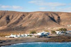 Pozo Negro village, Fuerteventura, Canary Islands Stock Photos