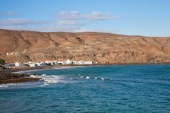 Pozo Negro village, Fuerteventura, Canary Islands Stock Photo