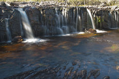 Little waterfalls 1 Royalty Free Stock Photos