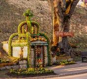 Pozo Tiefenpoelz de Pascua Imagen de archivo libre de regalías