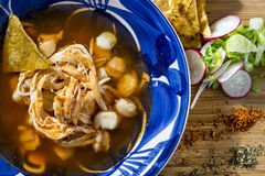Pozole Royalty Free Stock Images