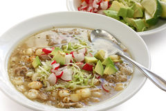 Pozole, mexican cuisine Stock Photo