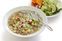 Pozole, mexican cuisine Stock Photography