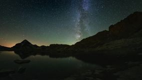 Pozorny obracanie Milky sposób zbiory wideo