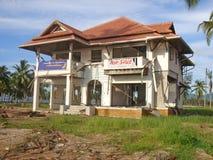 pozostałości po tsunami Fotografia Stock