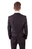 pozować biznesowego mężczyzna target1293_0_ Zdjęcie Stock