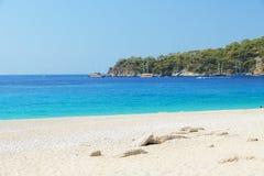 Pozwalać iść plaża Zdjęcie Royalty Free