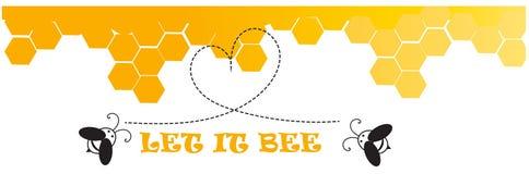 Pozwalać mnie pszczoła Zdjęcie Stock