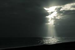 pozwalać wschód słońca Fotografia Stock
