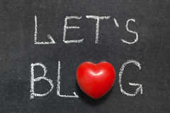 Pozwala blog obrazy royalty free