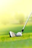 Pozwala my golfowi Fotografia Royalty Free