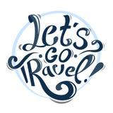 Pozwala my iść podróż! Obraz Royalty Free