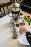 Pozwala ` s robić kawowemu arabskiemu stylowi Obraz Stock