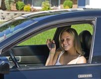 pozwolenie kierowcy zdjęcie stock