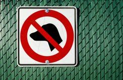 pozwolić psy żadny znak zdjęcie royalty free