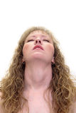 pozy zmysłowa kobieta Zdjęcia Royalty Free