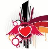 pozyskiwania grafiki serce Royalty Ilustracja