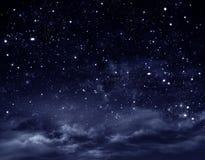 pozyskiwania ilustracyjny błyskawica nocne niebo ilustracja wektor