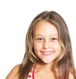 Pozytywna dziewczyna Zdjęcia Stock