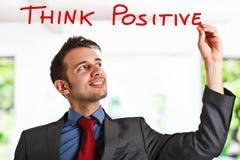 pozytywna myśl Obraz Stock
