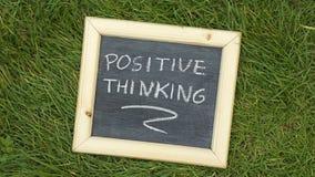 pozytywnego myślenia zdjęcie stock