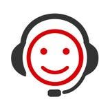 Pozytywni dyspozytorów smilies, szczęśliwa smiley emocja smilies, kreskówki emoticon - wektor ilustracja wektor