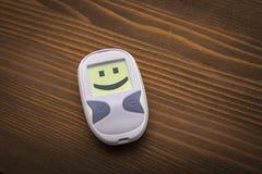 Pozytywni zdrowie przyzwyczajenia które walczą cukrzyce Fotografia Stock