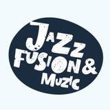 Pozytywny typograficzny jazz ilustracja wektor