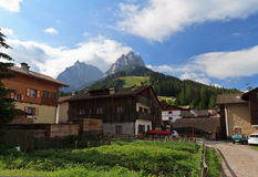 Pozza di Fassa, Italy Stock Photo